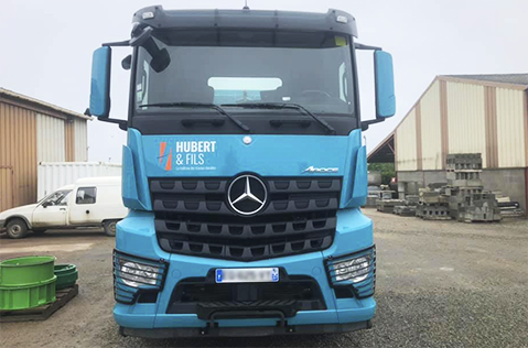 Photo camion de l'entreprise